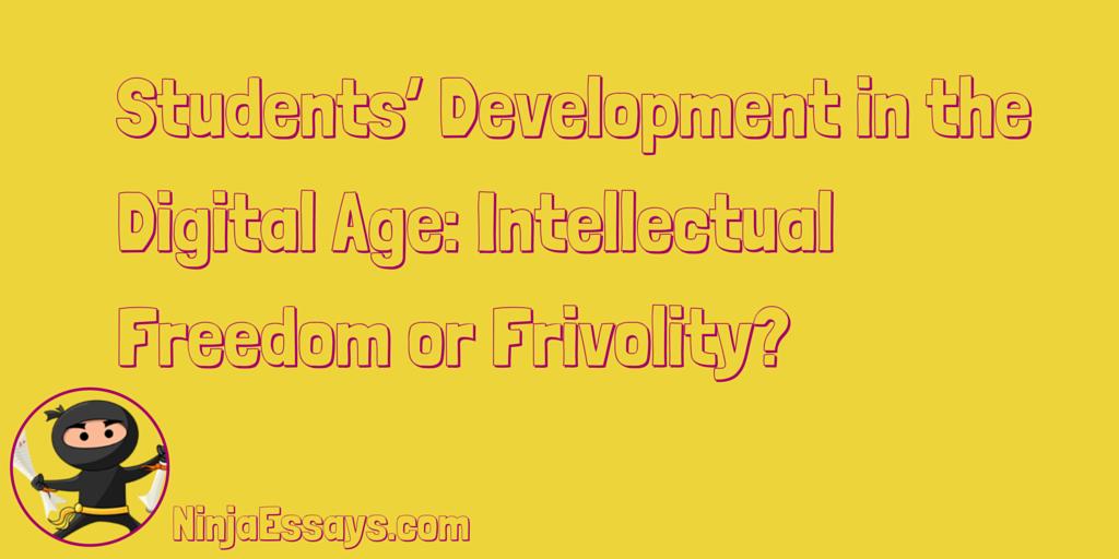 student development essay